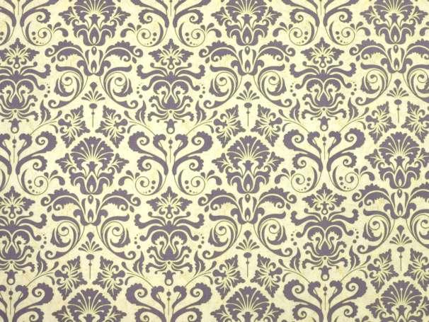 Baumwolle Stoff - Light Breeze - Ornament - gelb