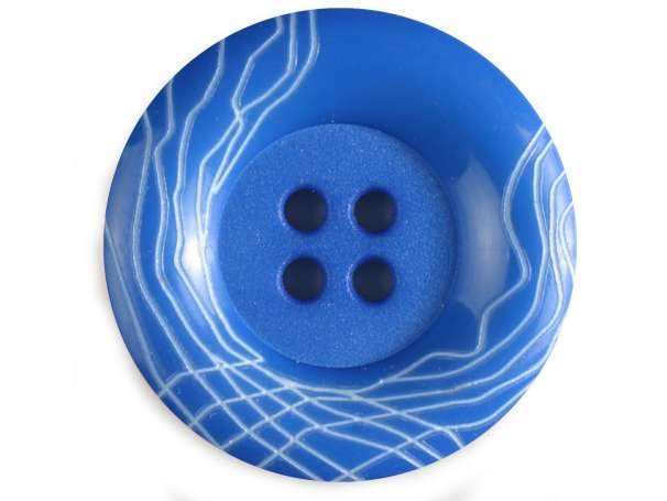 Modeknopf 18mm - blau