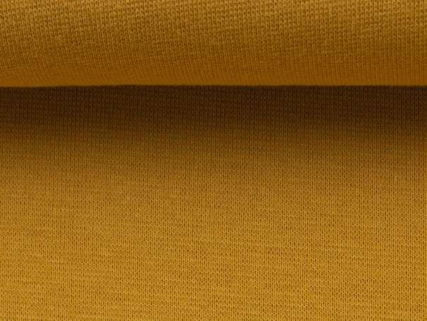 Bündchenstoff - goldgelb