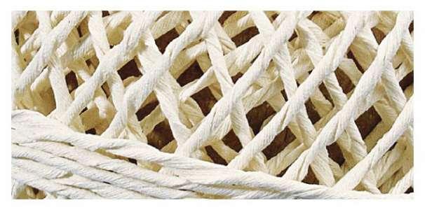 Baumwolle - Dekokordel, 1 mm - 20 m - natur