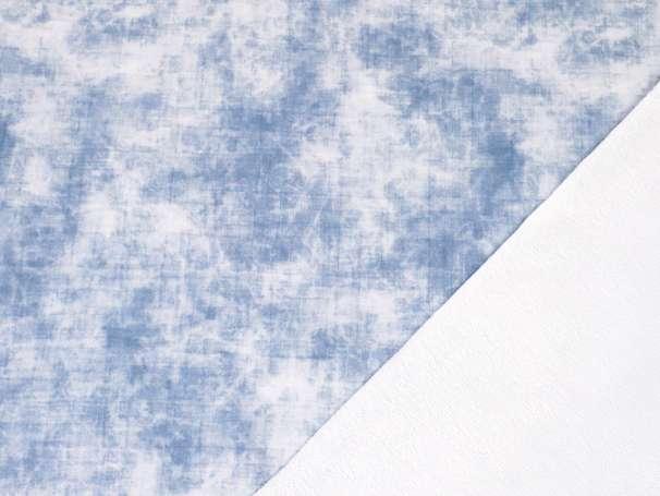 French Terry - Grunge - blau