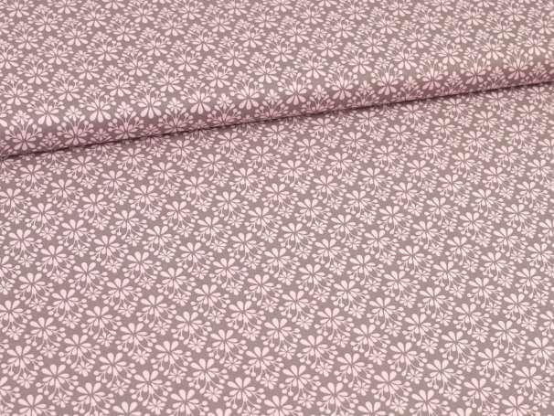 Baumwolle Stoff - Light Breeze - Blümchen grafisch - rosa