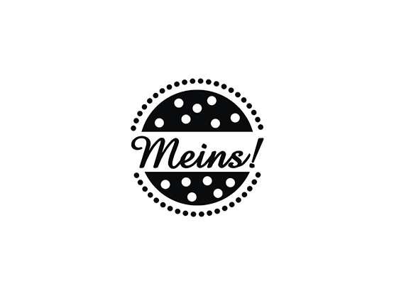 "Mini-Holzstempel ""Meins"""