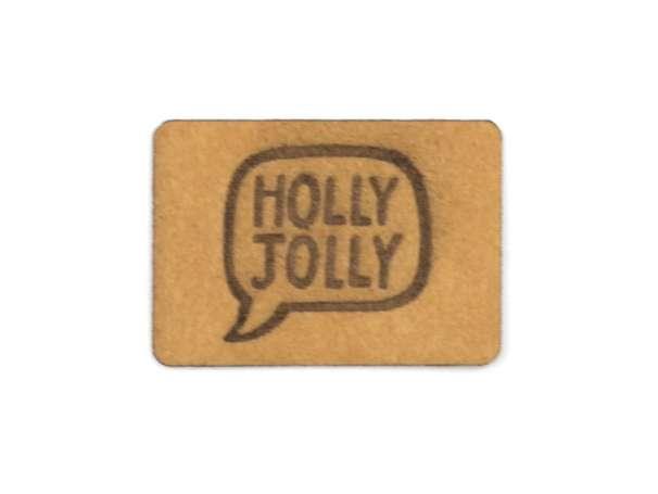 SnaPpap Label - Sprechblase, Holly Jolly