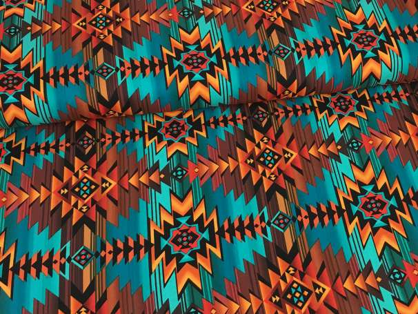 Baumwolle Stoff - Southwest Blanket
