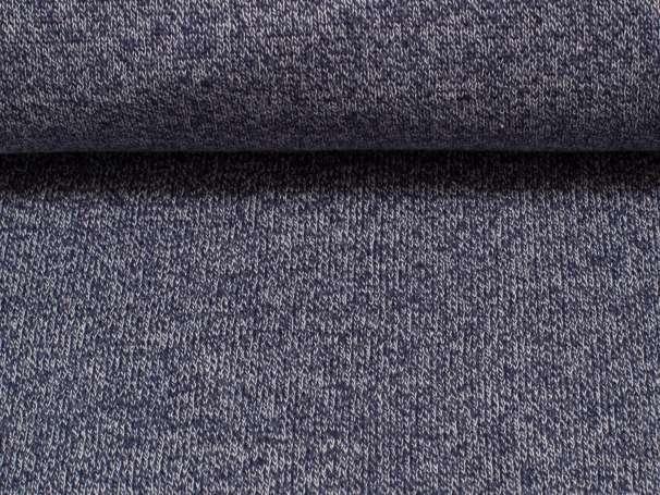Strick - Sweat - dunkelblau meliert