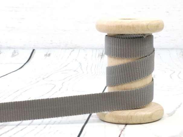Gurtband - 15mm - grau