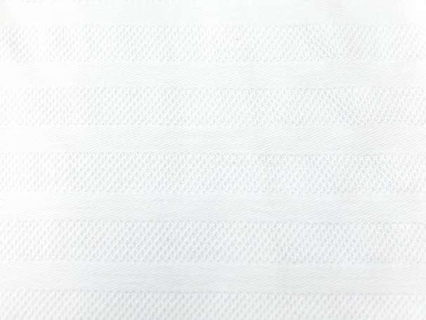 Jacquard Milliblus - Everyway - Streifen & Karos - weiß
