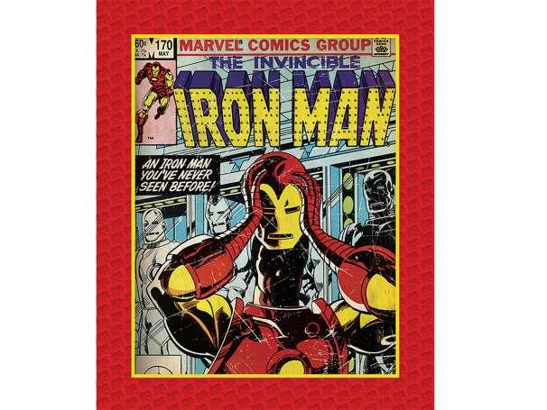 Baumwolle Stoff - PANEL - Invincible Iron Man