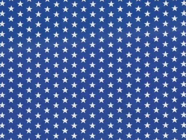 Jersey Stoff - Sterne - royalblau