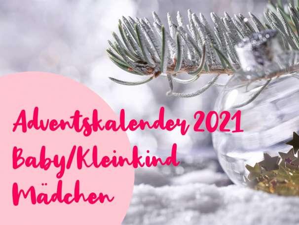 MÄDCHEN Adventskalender 2021 - Baby/Kleinkind - Vorbestellung