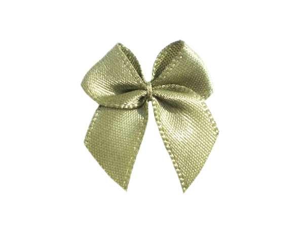 Satin Schleife - 24 mm - altgrün