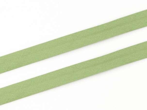 Schrägband Baumwolle - 20 mm - schilfgrün