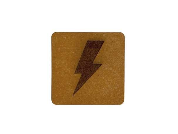 SnaPpap Label - Quadrat - Blitz