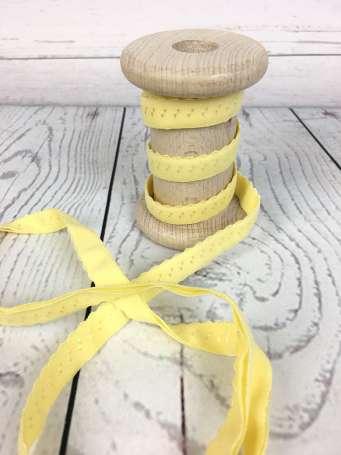 Elastisches Einfassband - gelb