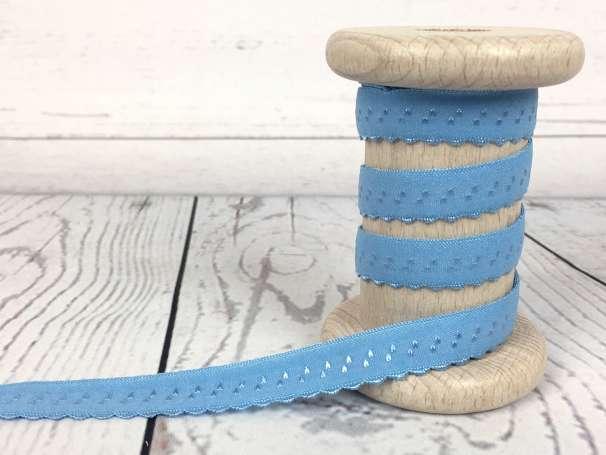 Elastisches Einfassband - hellblau