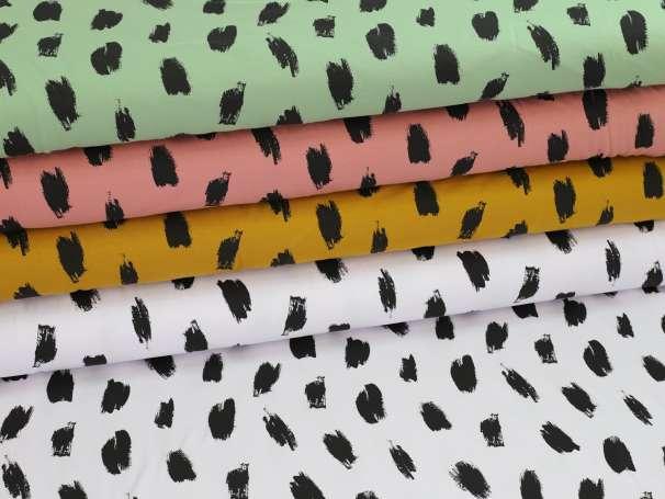 Jersey Stoff - Charcoal Stripes - verschiedene Farben