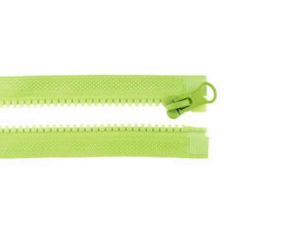 Teilbarer Reißverschluss - 75 cm - kiwi