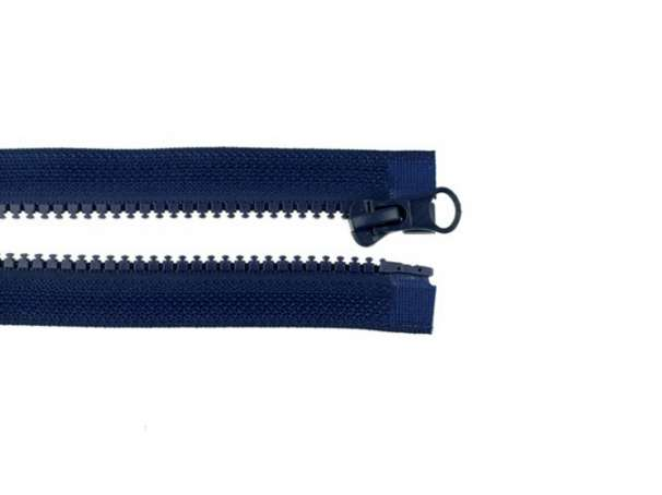 Teilbarer Reißverschluss - 75 cm - marine