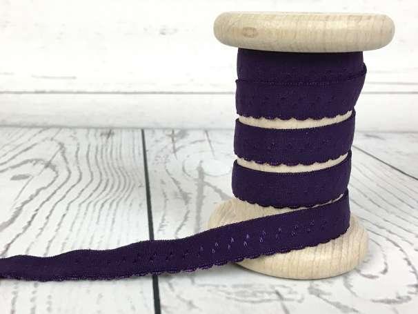 Elastisches Einfassband - violett