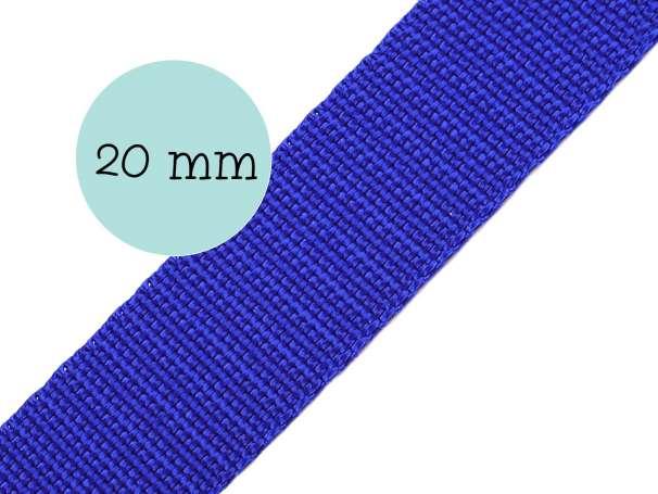 Gurtband - 20mm - royalblau