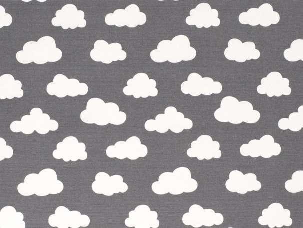Canvas - Wolken - grau
