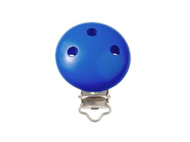 Schnulli-Ketten Clip - blau