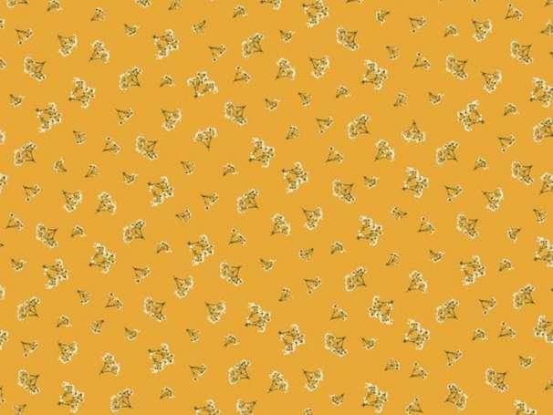 Baumwolle Stoff - Fabulous Breath Yellow