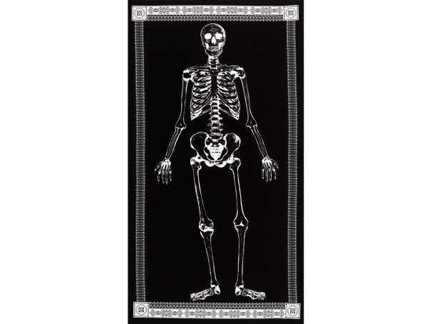 Baumwolle Stoff - PANEL - Mr. Bones