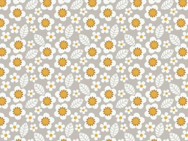 Stoff Baumwolle - Mama & Me Flowers