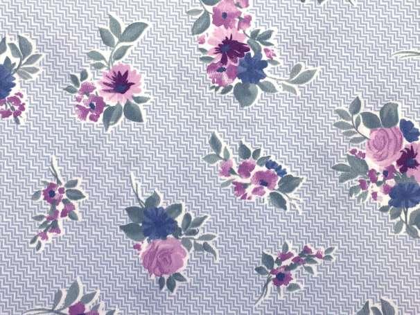 Westfalenstoffe blau - Cardiff - Blumen