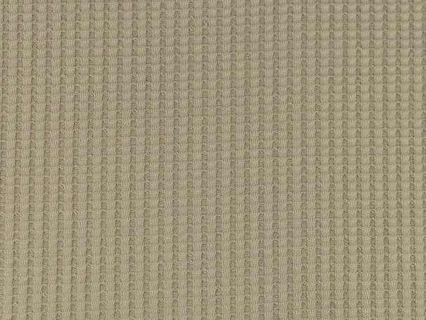 Waffel Jersey - Uni - beige