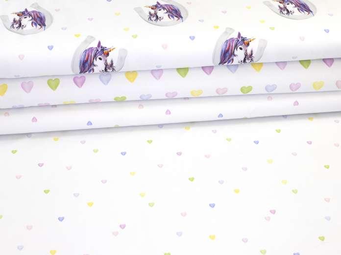 Jersey Stoff - Lovely Unicorns - Serie