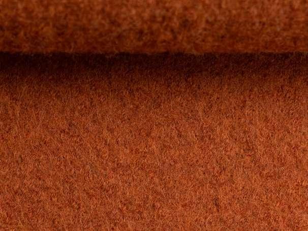 Wollstoff - Walk - terracotta melange