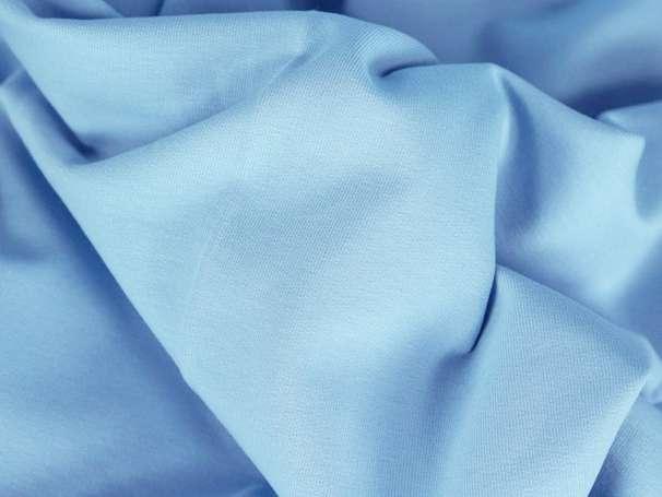 Sweat Stoff - hellblau