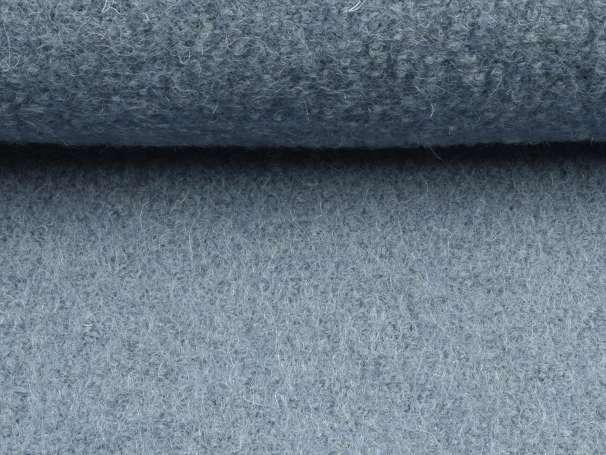 Wollstoff - Walk - rauchblau