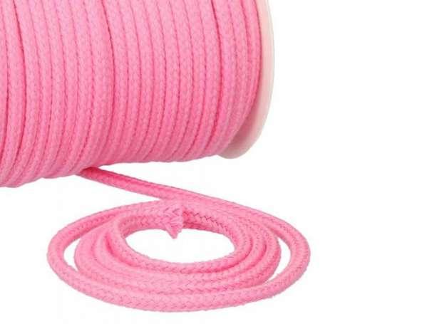 Baumwollkordel 8mm - rosa