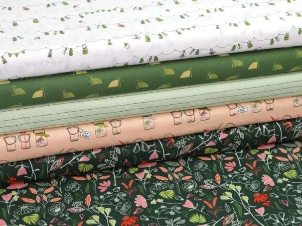 Baumwolle Stoff - Dew & Moss - Serie