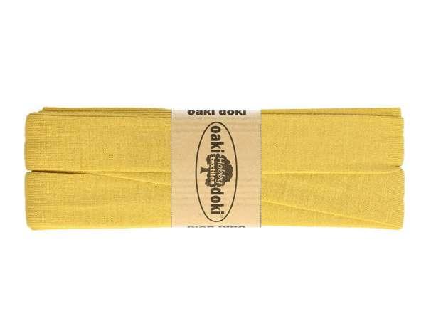 3m Jersey Schrägband - Viskose - 032 senf