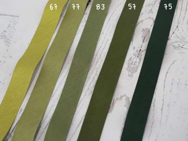 5m Schrägband - Farbkarte