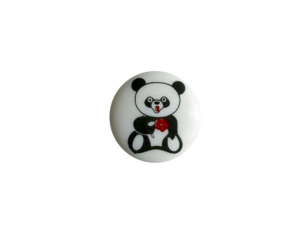 Knopf - 15 mm - Panda