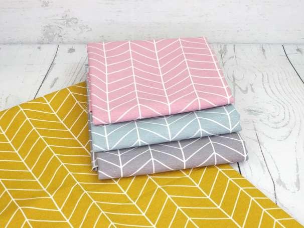 Canvas - Zacken Grafisch - verschiedene Farben