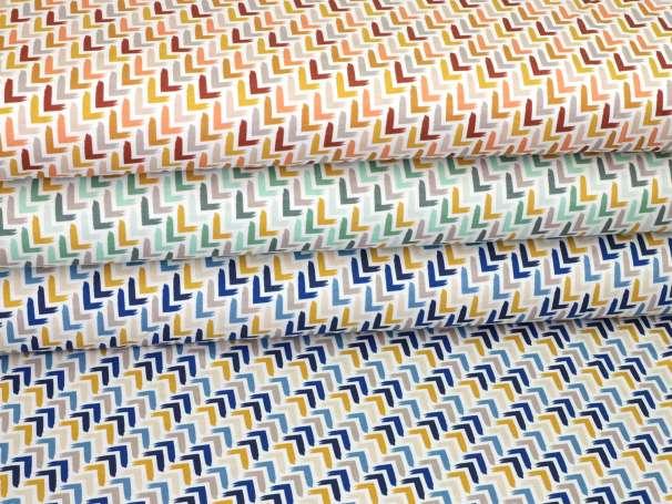 Jersey Stoff - Ecken - verschiedene Farben