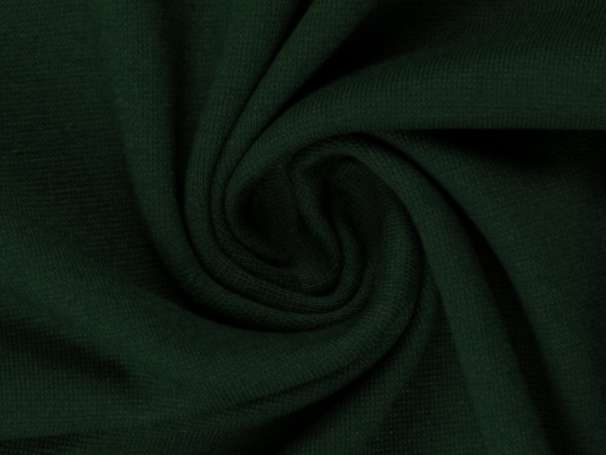 Bündchenstoff - dunkelgrün