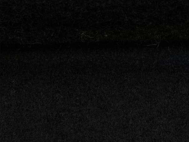 Wollstoff - Walk - schwarz