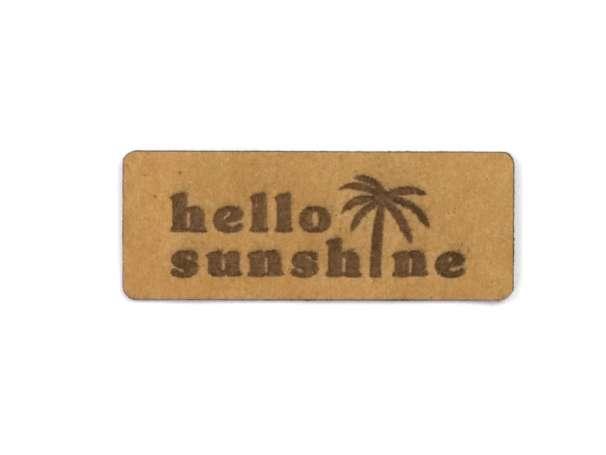 SnaPpap Label - Hello Sunshine