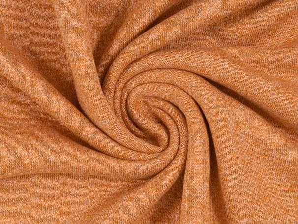 Strick - Sweat - orange meliert