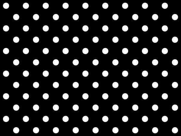 BAUMWOLLE Stoff - Punkte - schwarz,weiß