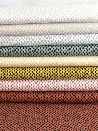 Jersey Stoff - Kurze Striche - verschiedene Farben