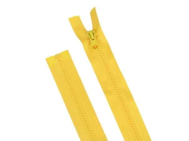 Teilbarer Reißverschluss - 40 cm - gelb